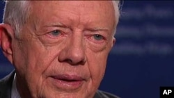U.S. former President Jimmy Carter is scheduled to arrive in Sudan's capital, Khartoum ahead of the upcoming vote.