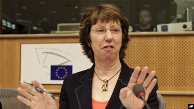 EU Foreign Policy Chief Catherine Ashton, 08 Nov 2010