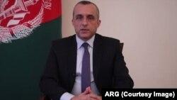 د ولسمشر غني لومړی مرستیال امرالله صالح
