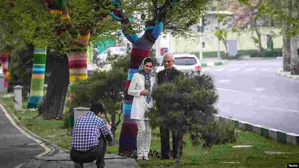 """حواس تان به این روزهای تهران هست؟ تسنیم گزارش تصویری دارد در این روزهای خلوت پایتخت با عنوان """"تهران بهاری"""". این یکی از عکس های این آلبوم است. عکس: محمد دلکش، تسنیم"""