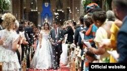 Đám cưới của Marie Hoa Chevallier, cô gái Pháp gốc Việt và Luois Ducruet, cháu trai Vua Monaco Albert II.