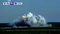 Bom mẹ của Mỹ diệt hàng chục lính IS (VOA60)