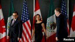 Abahanuzi mu vyerekeye ubutunzi muri Mexique, Canada n'Amerika