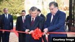 د تاجکستان او ازبکستان جمهور رئیسان
