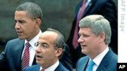 北美领导人承诺抗流感促 经济保安全