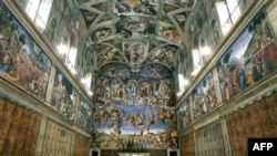 The Sistine Chapel at the Vatican