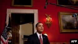 奥巴马总统发表每周广播讲话