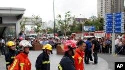 چین: ریل گاڑیوں کی ٹکر میں دوسوسے زیادہ مسافر زخمی