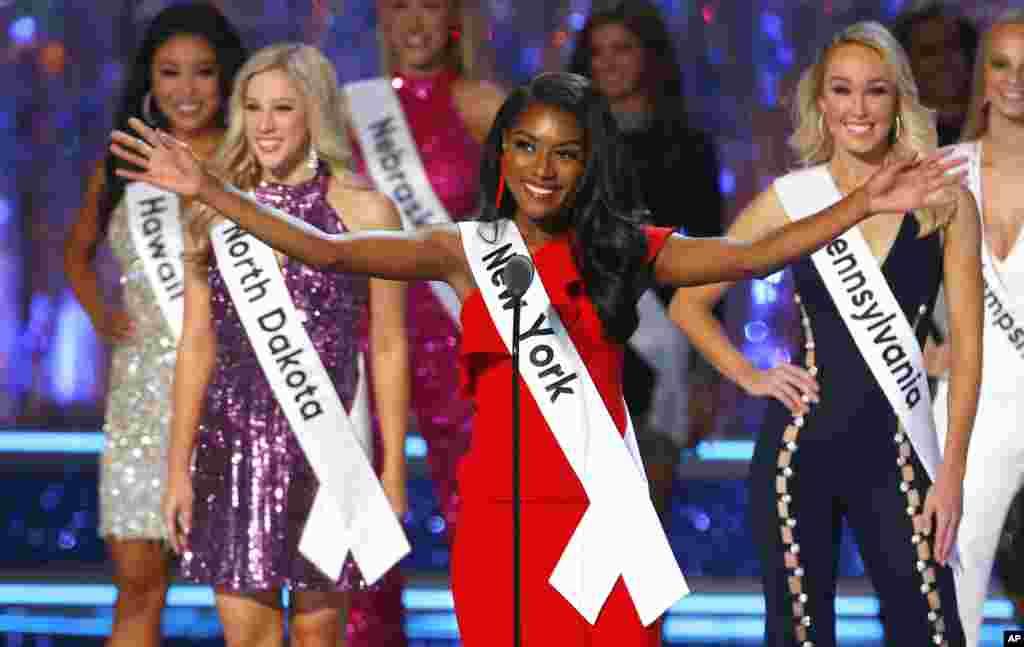 """Мисс Америка-2019"" Ниа Франклин"