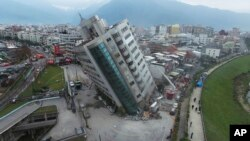 VOA连线(张永泰):台湾花莲强震救援情况报道