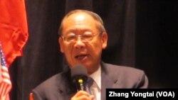 台湾前外交部长钱复(美国之音张永泰拍摄)