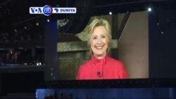 VOA60 DUNIYA: USA Hillary Clinton ta Zama Mace ta Farko da Wata Babbar Jam'yya a Amurka ta Tsaida da Ita 'Yar Takara a Tarihin Kasar.