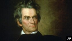 A portrait of John C. Calhoun painted by G.P.A. Healy around 1846