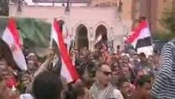 Más protestas multitudinarias en El Cairo