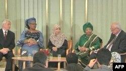 İki liberiyalı və bir yəmənli qadın Nobel Sülh Mükafatına layiq görülüb