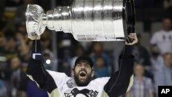 2016年6月12日匹兹堡企鹅队夺得美国全国冰球联盟冠军。
