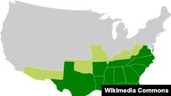 The Confederate States of America included Alabama, Florida, Georgia, Louisiana, Mississippi, South Carolina, Texas, Arkansas, North Carolina, Tennessee and Virginia.