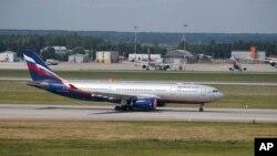에어버스사의 A330 항공기. (자료사진)