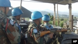 MONUSCO troops in DRC.