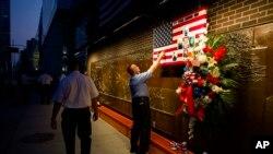На месте ВТЦ в Нью-Йорке. 11 сентября 2013г.
