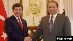 پاکستان اور ترکی کے وزرائے اعظم