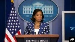 Bà Rice cho biết thêm Hoa Kỳ đang duyệt xét lại sự trợ giúp cho Burkina Faso.