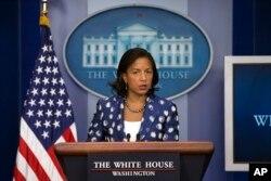 Cố vấn An ninh Hoa Kỳ Susan Rice.