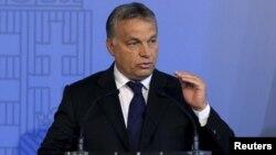 PM Hungaria Viktor Orban adalah pemimpin Eropa yang paling lantang menolak arus migran ke Eropa (foto: dok).