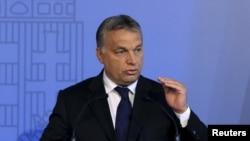 ນາຍົກລັດຖະມົນຕີ ຮັງກາຣີ ທ່ານ Viktor Orban.