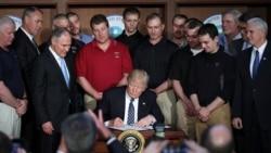 ရာသီဥတု ထိန္းသိမ္းေရး ဥပေဒေတြ Trump ဖ်က္သိမ္း