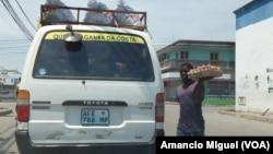 Vendedor de rua, Quelimane, Mocambique