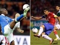 Italy versus Costa Rica.