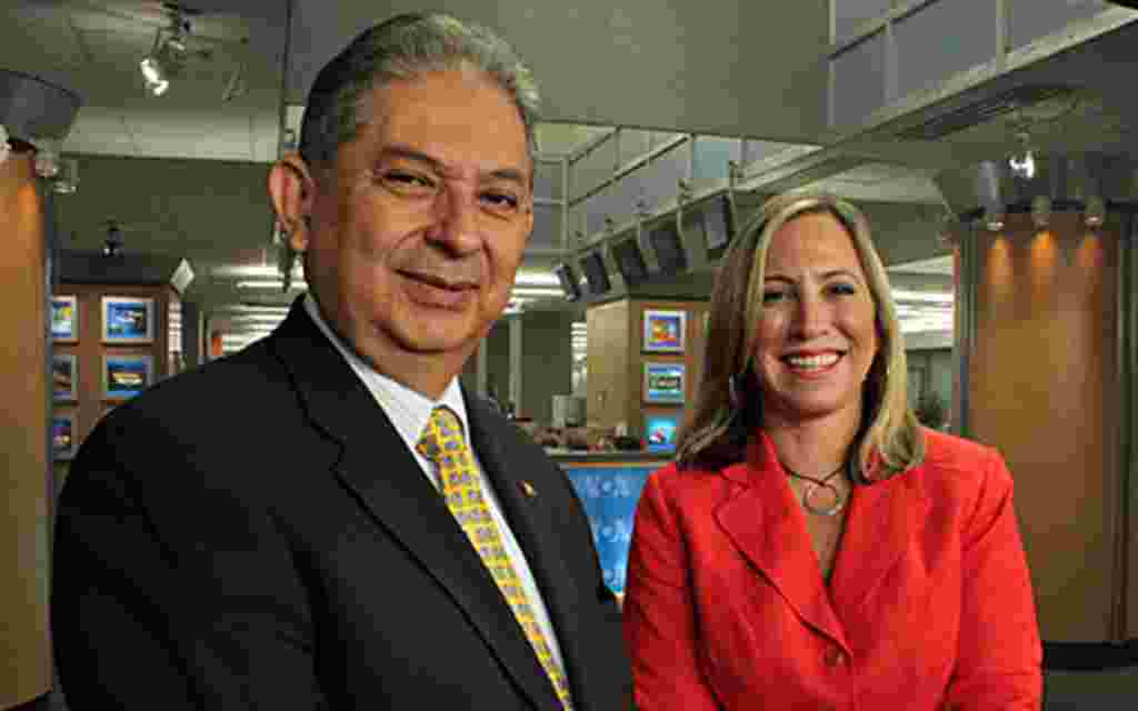 Foro Interamerica, a TV Show from Voice of America in Spanish. Anchor: Patricia Dalmasy.