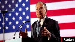 Mantan Walikota New York, Michael Bloomberg