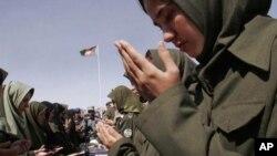 عکس آرشیف - طبقۀ اناث در صفوف پولیس ملی افغانستان