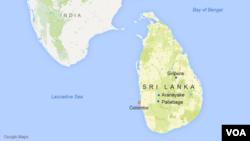 Peta Sri Lanka