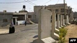 Город Гайяр. Граница между Ливаном и Израилем