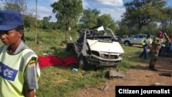 Dozens of people died in a road traffic accident near Kwekwe, Midlands province.