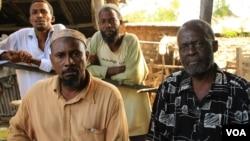 Mombasa Republican Council supporters in Likoni, Mombasa, Kenya, February 21, 2013. (VOA/J. Craig)