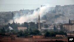 Кобани, Сирия, 19 октября 2014.