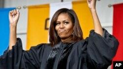 Matar Shugaban Amurka Michelle Obama