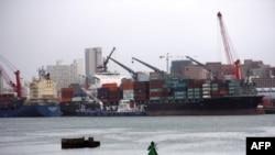 Le port de Durban, en Afrique du Sud, le 25 mars 2013.