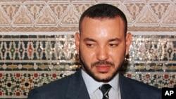 Le roi du Maroc Mohammed VI, le 14 février 2000.