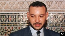Le roi Mohammed VI du Maroc, 14 février 2000.