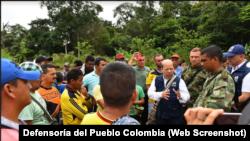 Ante la presunta responsabilidad de miembros de la policía colombiana en el homicidio múltiple ocurrido en Tumaco, la Defensoría del Pueblo de Colombia solicitó al fiscal y al procurador una investigación especial.