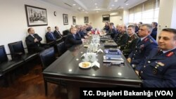 Pejabat Turki dan Rusia melakukan pembicaraan soal Idlib di Ankara, Turki bulan ini (foto: dok).