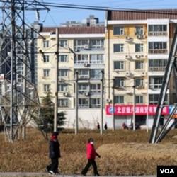Pembangunan perumahan baru di Beijing dan kota-kota lain di Tiongkok melonjak pesat akibat dilonggarkannya pinjaman kredit perumahan oleh pemerintah Tiongkok.