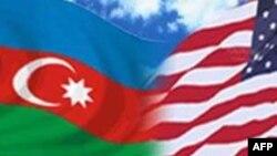 Azərbaycan-ABŞ bayraqları