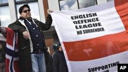 欧洲反伊斯兰组织3月31号在丹麦举行抗议集会