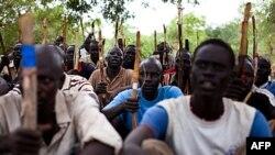 Wadansu sababin kuratan sojojin kungiyarSudan People's Liberation Army (SPLA)